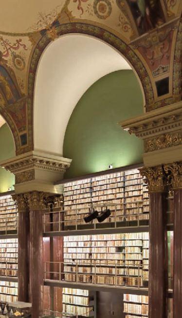 아우구스트 공작 도서관의 내부