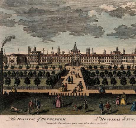 질병을 인간의 '적'으로 보고 격리시키는 공간이 병원이다. 빅토리아 시대 런던 병원의 전경.
