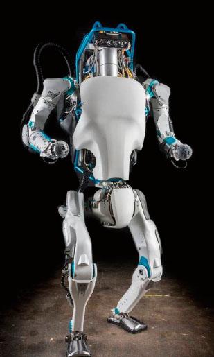 보스턴 다이나믹스에서 개발한 로봇 '아틀라스'.