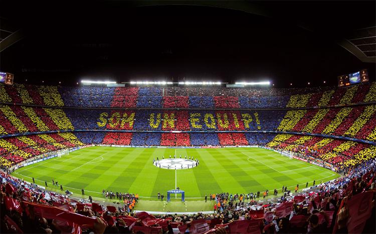 캄 노우 경기장은 FC 바로셀로나의 홈 경기장이자, 1982년 열린 스페인 월드컵 개막전과 유러피언 컵 결승전, 챔피언스리그 결승전도 치른 세계 최고의 경기장이다.