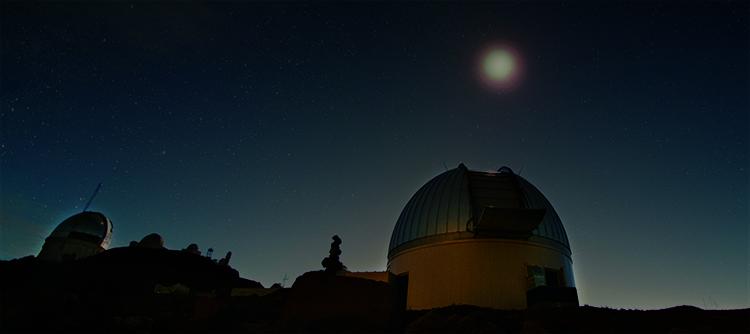 칠레 토롤로 지역에 위치한 범미주천문대.