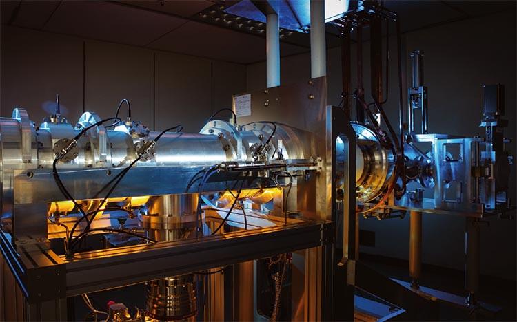 한국형 중이온가속기 '라온'에서 희귀동위원소를 생성하는 핵심 실험 장치.