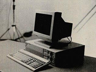 사무용 퍼스널컴퓨터 신기종 발표