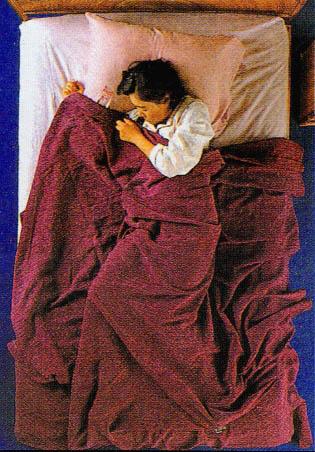 보다 편한 잠을 위한 안내 침구속의 기상을 알아두자