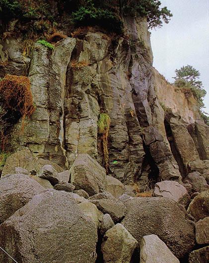 제주도의 동굴과 지형
