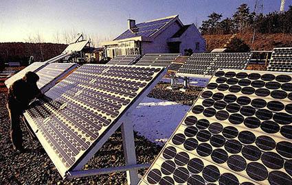 국내에서도 태양광발전은 활기띠어