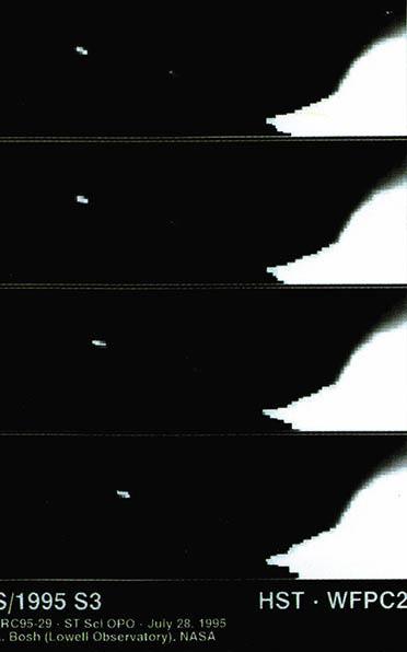 토성의 새 위성 4형제