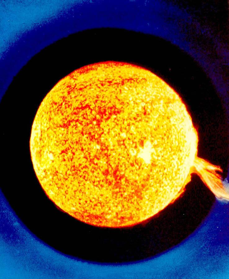 태양 파수꾼, 소호위성