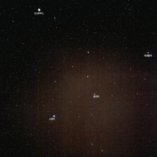 우주의 심연 은하들의 천국