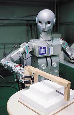 인간과 더불어 사는 신세대로봇