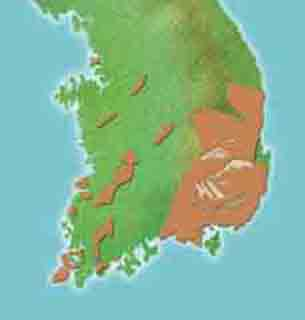 한국의 공룡