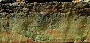 바위에 새겨진 고대인의 흔적 암각화