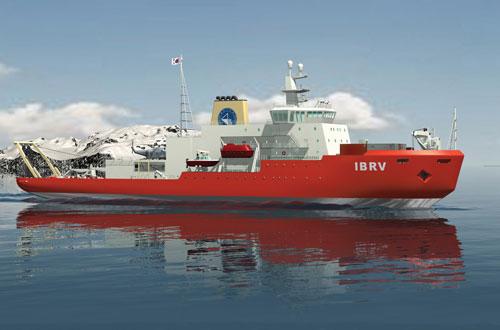 국산 기술로 얼음 바다 가르다