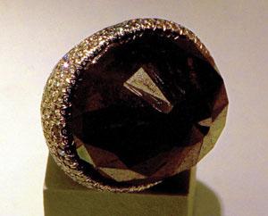 외계에서 온 '블랙 다이아몬드'