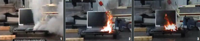 노트북 배터리 연쇄 폭발의 비밀