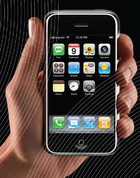 손대면 톡(talk) 터지는 휴대폰