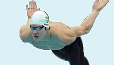 아름다운 올림픽 챔피언 몸매