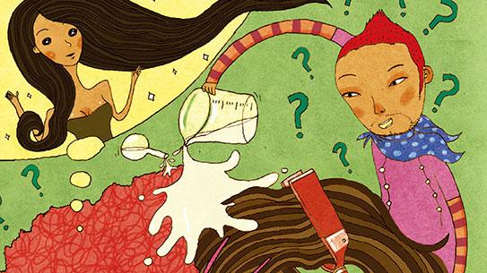 내 머리의 화학반응, 파마 속 궁금증 셋