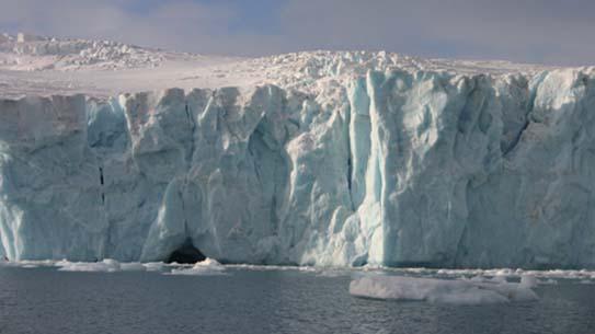 녹아 내리는 남극