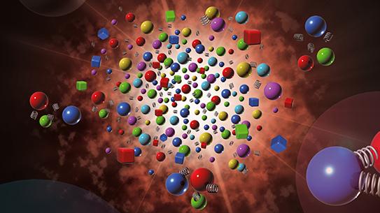 빅뱅 직후 우주에는 쿼크가 흘렀다
