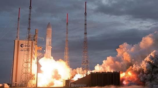 천리안 위성, 우주로 발사!