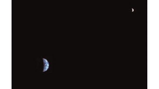 금성과 달의 모양 변화
