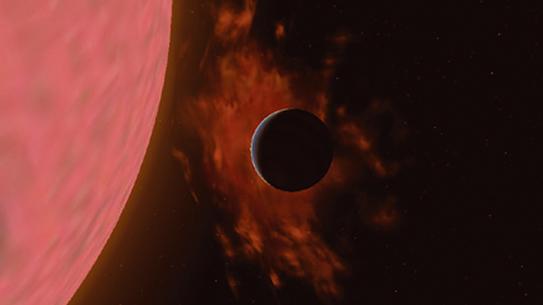 '별의 단발마' 항성풍의 정체는