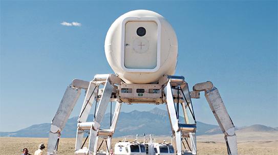 [화성탐사 특별기획 2] 성큼성큼 화성 누비는 문어 로봇