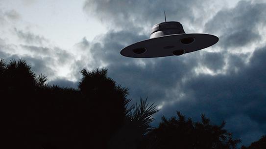 우리나라 하늘에서 춤추는 UFO 웨이브
