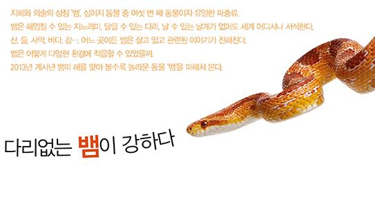 다리없는 뱀이 강하다