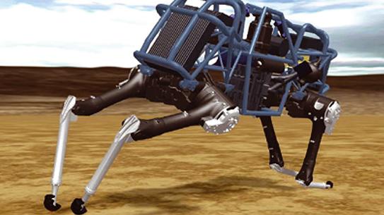 이제는 네발로봇 세상!