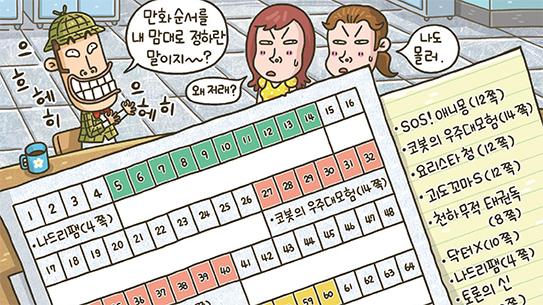 퍼즐탐정 썰렁홈즈, '드디어 어과동 편집장 되다!'