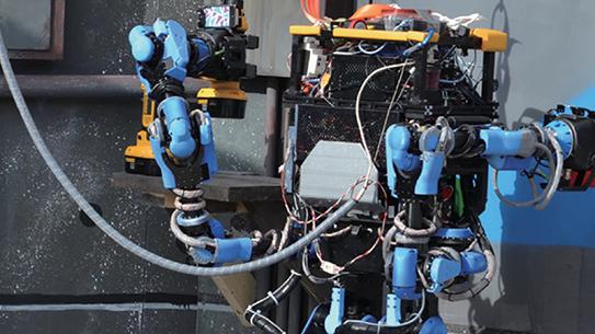 일본 로봇, 허세 떤 미국 로봇을 꺾다