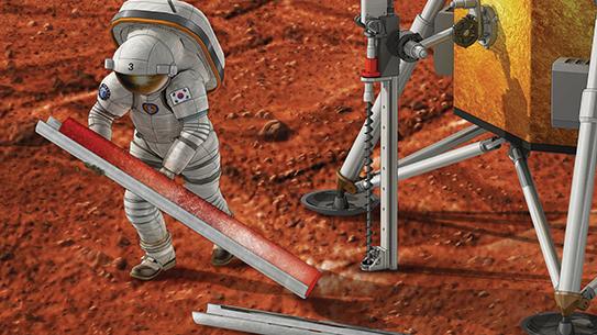 화성 동토층에도 미생물이 살고 있을까