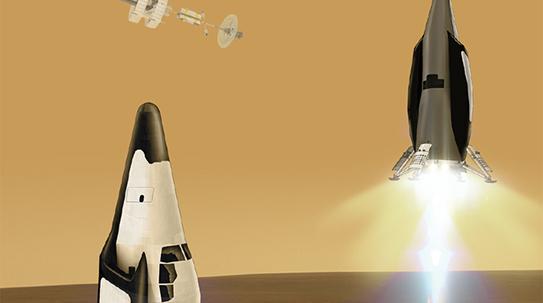 '우주 트랜스포머' 화성탐사선
