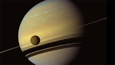 카시니호가 보여 주는 가장 아름다운 천체 토성