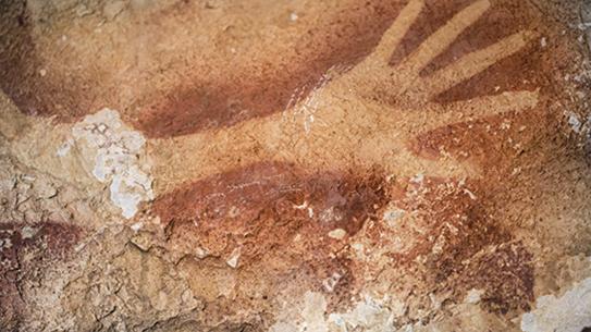 [과학뉴스] 인도네시아의 4만 년 전 동굴 벽화