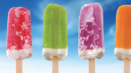 아이스크림 VS 아이스바