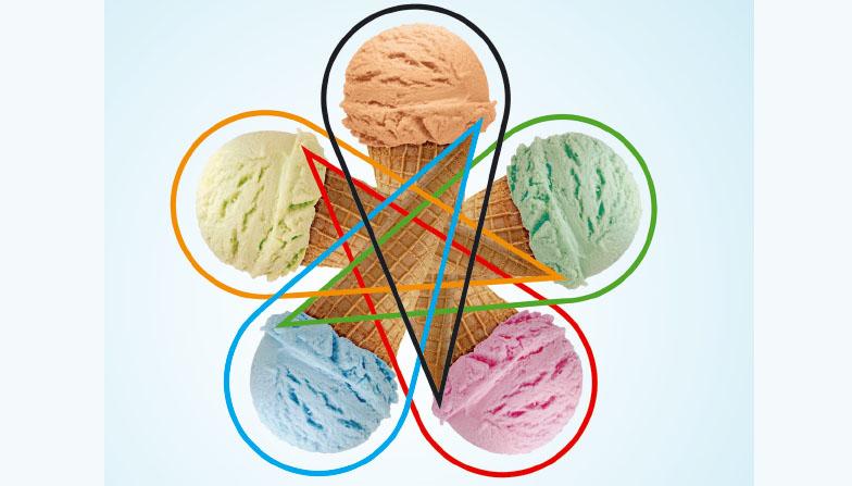 [지식] 아이스크림 닮은 벤 다이어그램이 있다고?!
