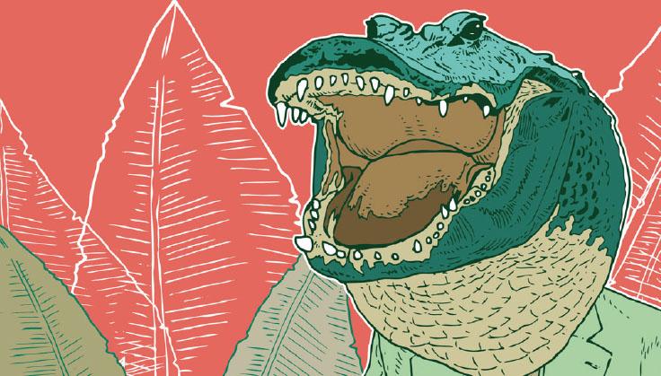 [Knowledge] 거대 악어의 반격이 시작되다!
