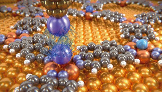 [과학뉴스] 반데르발스 힘, 원자 단위에서 최초 측정