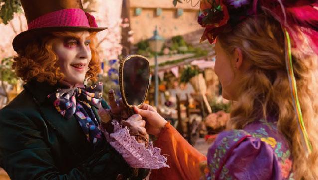 [지식] 앨리스의 거울나라 속 거울분자