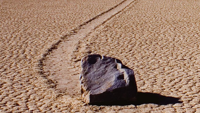 [쇼킹 사이언스] 바람이 돌을 움직인다고?! 항해하는 돌
