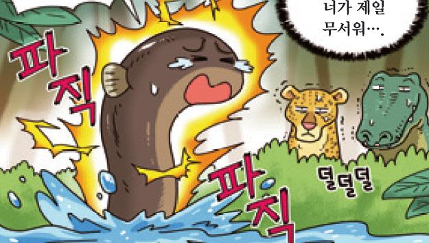 [가상인터뷰] 찌릿찌릿~, 전기뱀장어가 공격하는 이유는?