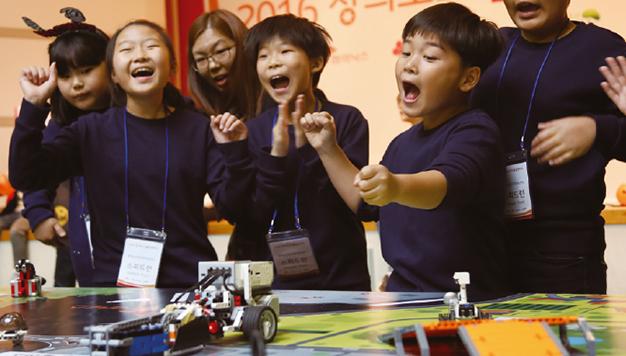 [현장취재] 놀면서 배우는 행복한 로봇 축제