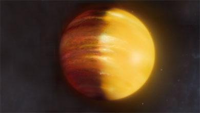 [과학뉴스] 루비와 사파이어 바람이 부는 행성 발견