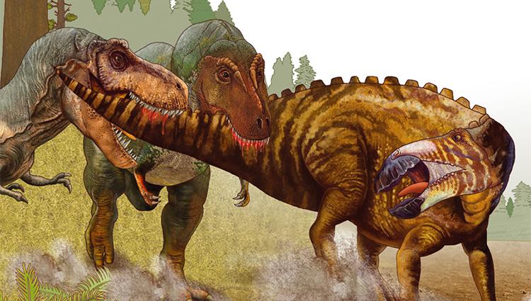 [공룡은 왜?] 꼬리뼈에 이빨 자국이? 공룡의 사냥 이야기