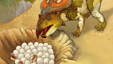 [공룡은 왜?] 크기는 작아도 부화 기간은 길다?! 공룡의 알