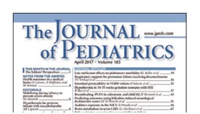 [과학뉴스] 소아과학저널 (The Journal of Pediatrics)