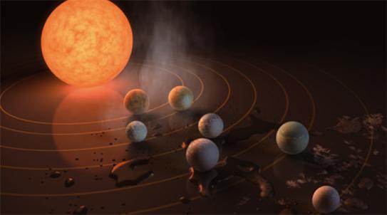 [과학뉴스] 지구랑 꼭 닮은 외계 행성 7개 찾았다!